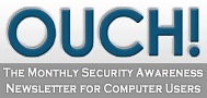 Ouch Security Awareness Newsletter